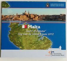 Malta 2012 Oficial Bu set Guest of Honour