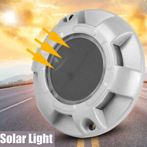 Solar Power Pathway Marker Road Stud Light LED For Outdoor Driveway Home Garden