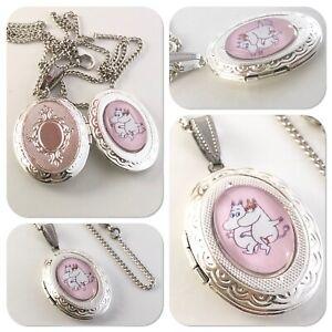 Moomin & Friends oval Locket necklace Moomins