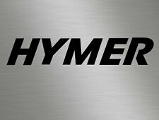 Large Hymer Front Back Rear Bonnet Vinyl Stickers Decals Campers Motorhomes