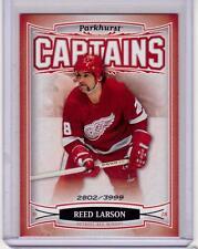 REED LARSON 06/07 Parkhurst CAPTAINS Insert Card #181 Detroit Red Wings /3999