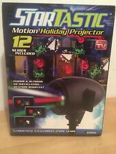 Startastic Motion Holiday Projector 12 Slides Included