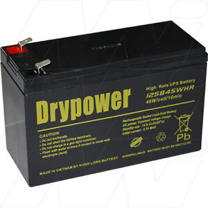 12V 9Ah Replacement Battery Compatible with APC RBC17 (1 battery required)