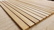 OAK TIMBER SOLID WOOD SLATS - 10mm MULTIPLE LENGTHS  (KILN DRIED )