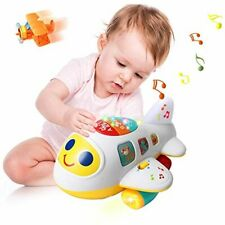Huile Baby Toys Electronic Airplane Toys with Lights & Music ,Best Kids Early Le
