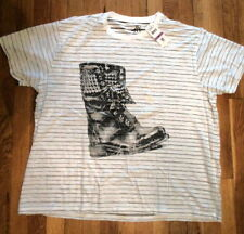 NWT Combat Boot Graphic T-Shirt by Authentic Icon, Soft,  XXL (S-T-77)