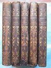 HISTOIRE PHILOSOPHIQUE ET POLITIQUE DE LA RUSSIE, 1828/1830. 5 volumes complet.