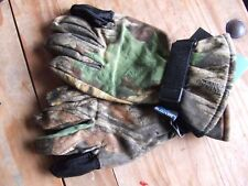 WHITEWATER REALTREE ADVANTAGE TIMBER CAMO WATERPROOF LINED HUNTING GLOVES XL
