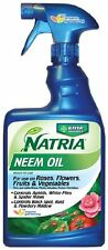 Bayer Advanced NATRIA 706250 Ready-to-Use Neem Oil Pest Control, 24-Ounce , New,