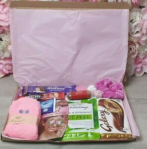 Care Package Hug In A Box Pamper Gift - Birthday - Thinking Of You - Missing You