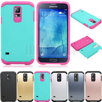 Hybrid Hard Armor Rugged Case Shockproof Slim Cover For Samsung Galaxy S5 Neo
