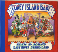 """""""CONEY ISLAND BABY"""" EAST RIVER STRING BAND NEW CD SEALED R. CRUMB COVER"""