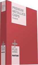 Pantone 2018 GB1505 Plus Premium Metallics Coated Chip Book (Replaced GB1405)