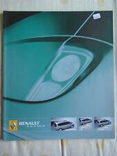 Renault Espace range brochure Feb 2005
