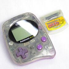 Pokemon Mini Console Purple MIN-001 w/ Pokemon Party Mini Cartridge Nintendo F/S