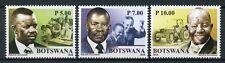 Botswana 2018 MNH Sir Ketumile Quett Joni Masire 3v Set Politicians Stamps