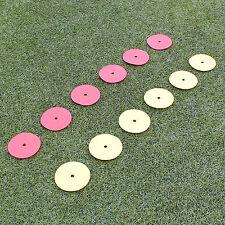 Trainingsbedarf Markierscheiben 12 Stück gelb/rot Neu Superspieler24