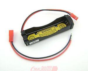 Battery Holder Case for 18650 Li-ion Cell 1S1P PCM inside output:3-4.2V JST