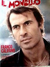Il Monello 50 1976 Franco Califano - Francesco Rocca - RAQUEL WELCH  [G.145]