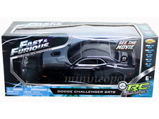 NKOK FAST & FURIOUS R/C RADIO REMOTE CONTROL DODGE CHALLENGER SRT8 1/24 BLACK
