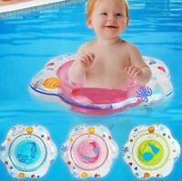 Baby Kids Swim Ring Infant Inflatable Float Swimming Pool Water Seat Safety Ring