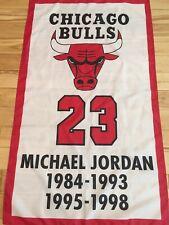 3'x5' Michael Jordan Chicago Bulls #23 retired jersey number banner/flag
