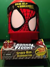 Bonka Zonks Spider Man Headquarters (2 Zonks are included!) BRAND NEW
