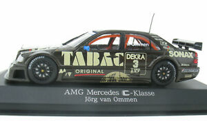 MINICHAMPS - AMG Mercedes-Benz C-Klasse DTM Ommen 1:43 in OVP /Box B66005025