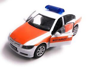 BMW 330i 3.30i 3er Ambulanza Modellino Auto Licenza Prodotto 1:3 4-1:3 9
