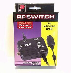 RF Switch Unit AV Cable for Nintendo 64, SNES & GameCube
