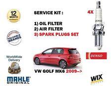 Para Vw Golf 2.0 TSI GTI MK6 2009- > Servicio Kit Aceite Juego de FILTRO AIRE +