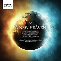 Choir of The Queen s College - A New Heaven [CD]