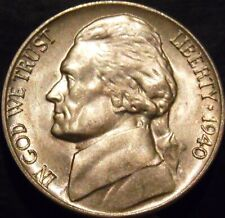 1940-D Jefferson Nickel Choice/Gem BU Uncirculated