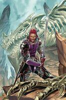 Dragonsblood Legend of Sigurd #2 Image Comic 1st Print 2019 NM unread