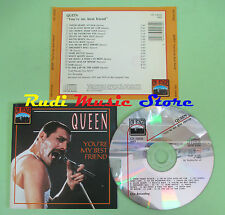 CD QUEEN You're my best friend 1992 italy ON STAGE CD 12030 (Xs1) no lp mc dvd