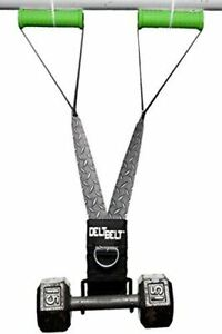 DELT-BELT Dumbbell Upright Row, Cable Upright Row, Multi-Exercise Handles