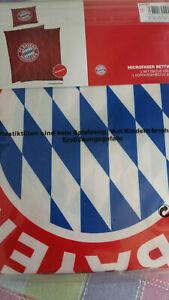 FC Bayern München Wende Bettwäsche*80x80cm/135x200cm*NEU/OVP*
