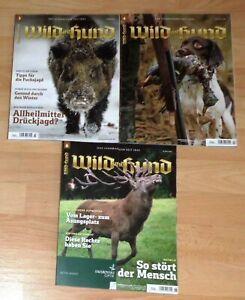Wild und Hund 3/21, 4/21 und 6/21