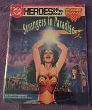 NEW DC Heroes Wonder Woman Strangers in Paradise RPG Role Playing Module 239
