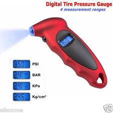 New LCD Digital Tire Tyre Air Pressure Gauge Tester For Car Motorcycle 150 PSI