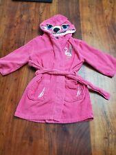 Nautica Girls Pink Wardrobe Shower Cover Swimwear Rooe  Size 5/6