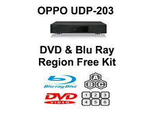 Oppo UDP-203 DVD & Blu Ray Region Free Unlock Kit