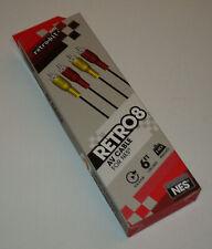 Sammlungsauflösung Nintendo NES Retro 8 AV cables kabel NEW OVP