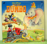 Dumbo (1941) PAL Laser Disc, Walt Disney Classic Animation Film [EE 1173]