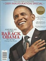 Barack Obama Magazine Inauguration Special White House Michelle Family Politics