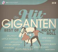 DIE HIT GIGANTEN BEST OF ROCK'N'ROLL 3 CD NEW! LITTLE RICHARD/LARRY WILLIAMS