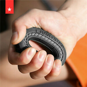 Strength Hand Grip Muscle Power Training Rubber Ring Exerciser Fit