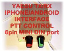 Yaesu Iphone/Android PTT Interface-PSK,PSK31,RTTY,SSTV / FT-100,817,857,897