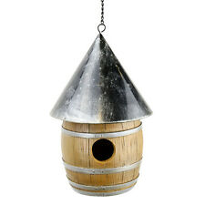 1 BIRDHOUSE - Outdoor Whiskey Barrel - Red Carpet Studio