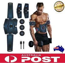 Abdominal Muscle Toner ABS Stimulator Trainer Body Smart EMS Fitness Training AU
